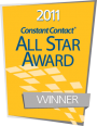 Syracuse Design Group is a 2011 Constant Contact All Star Award Winner